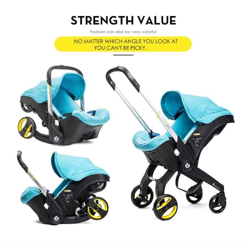 Baby Stroller Terminator 4 in 1
