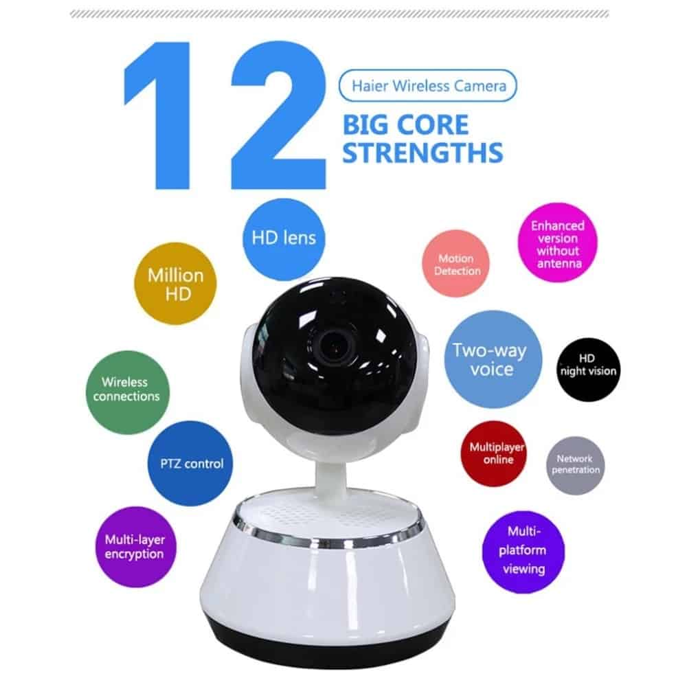 Security online store Baby Monitor Portable WiFi IP Camera