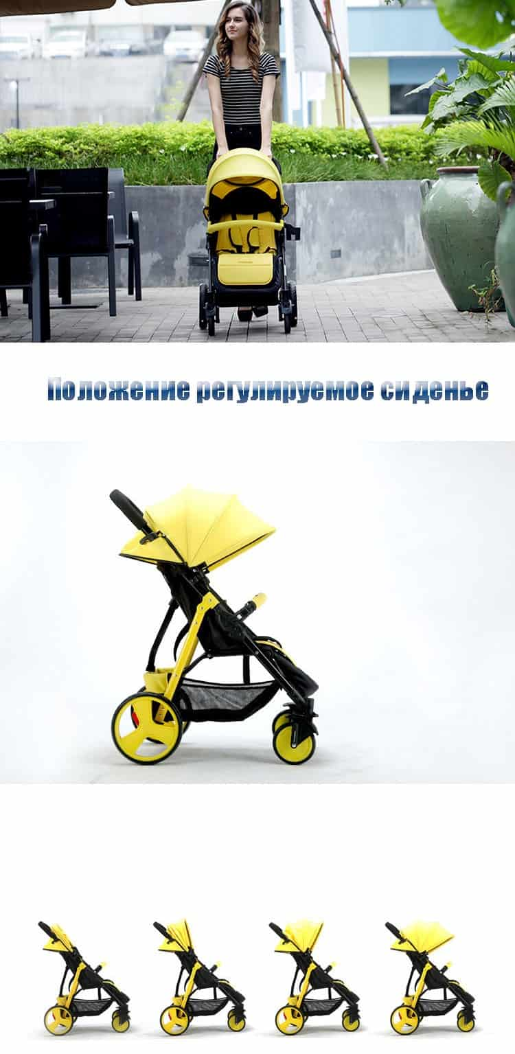 SLD baby stroller scientific design