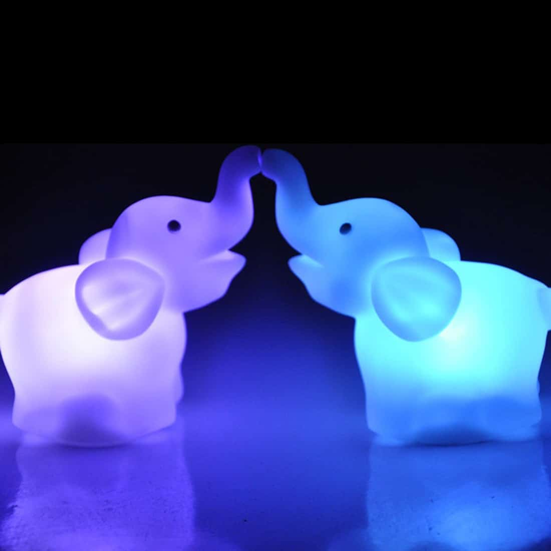 Elephant LED Lamp Color Changing Night Light