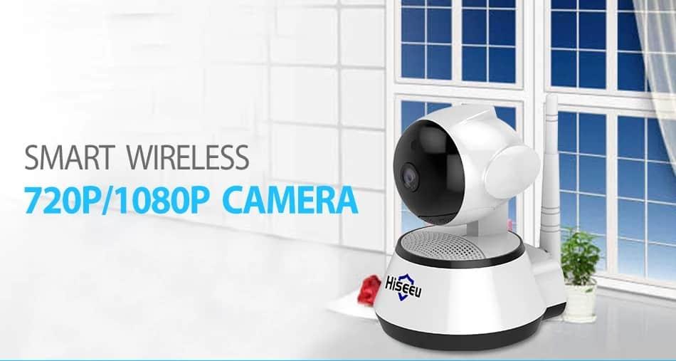 Hiseeu 720P/1080P IP Camera