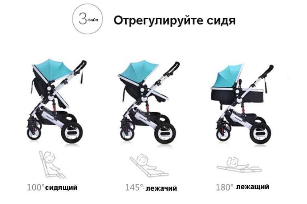 Dragon baby stroller