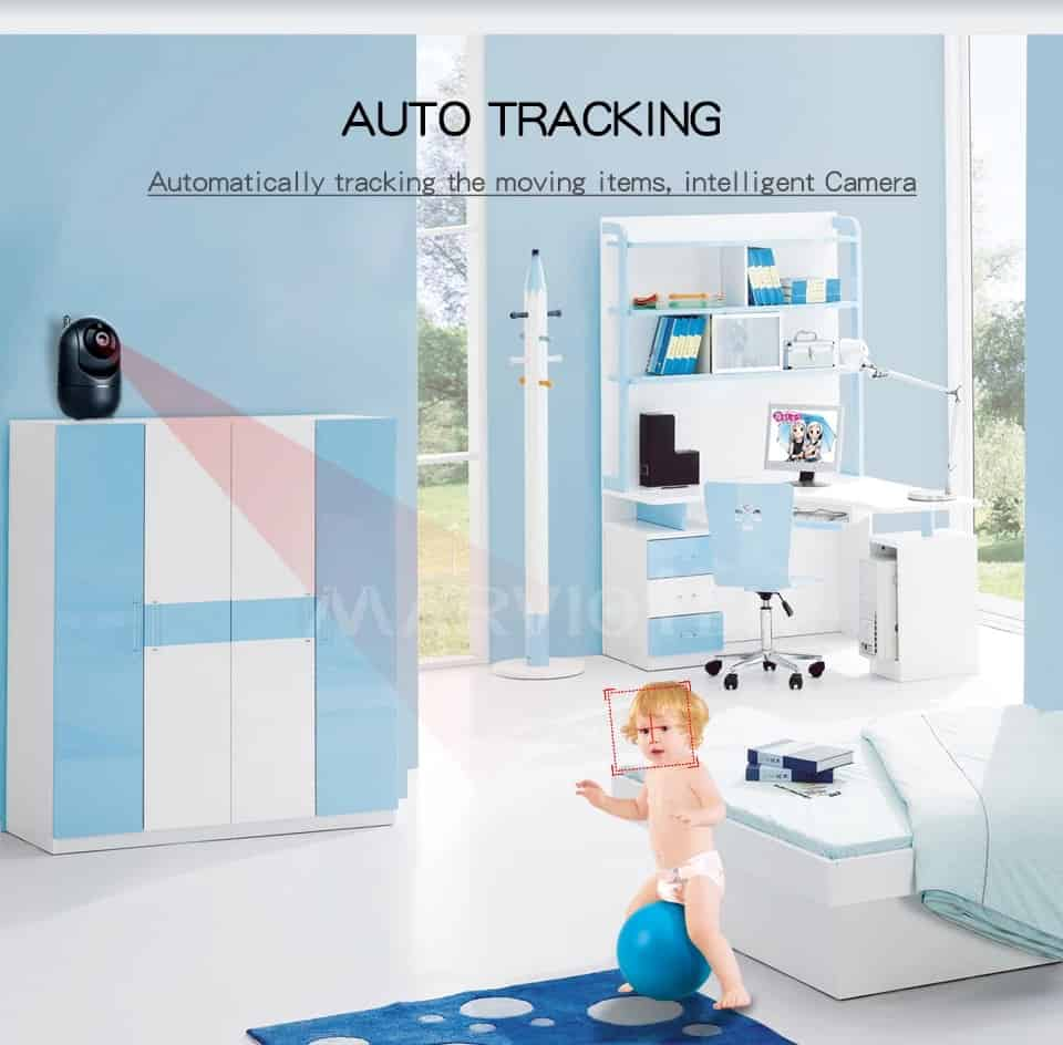 MARVIOTEK Baby Monitor Auto Tracking