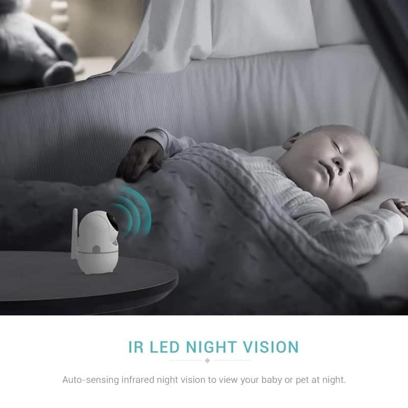 HD 1080P Cloud IP Camera Wireless Video Color Baby Monitor