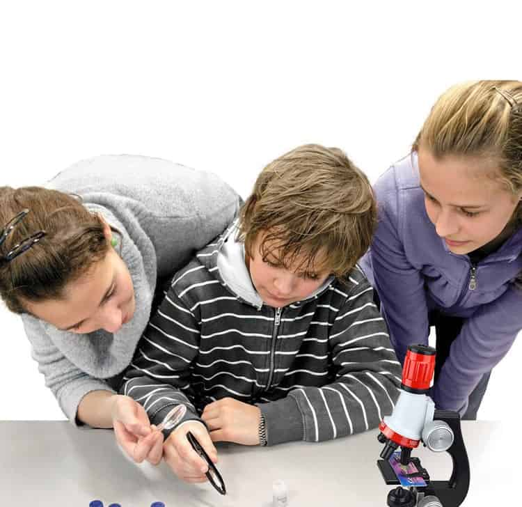Microscope Kit Lab LED