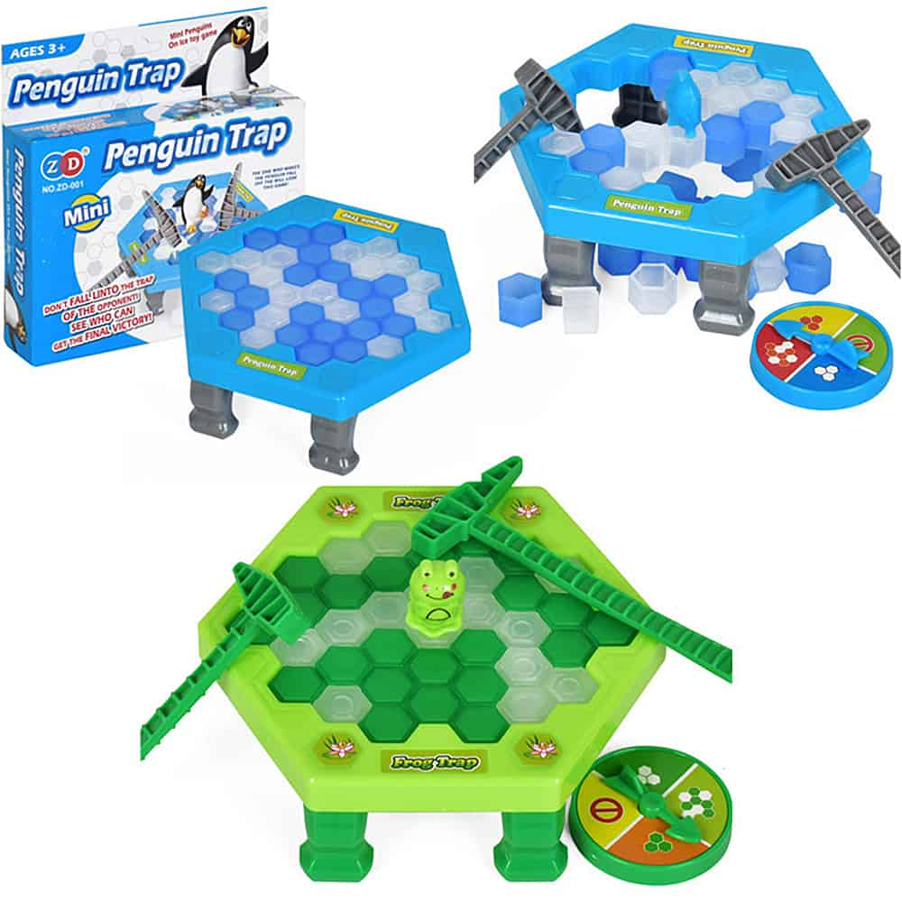 Mini Animal Trap Board Game Ice Breaking