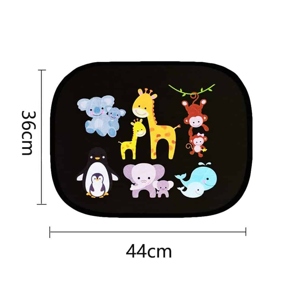 Fun cartoon design baby sunshade