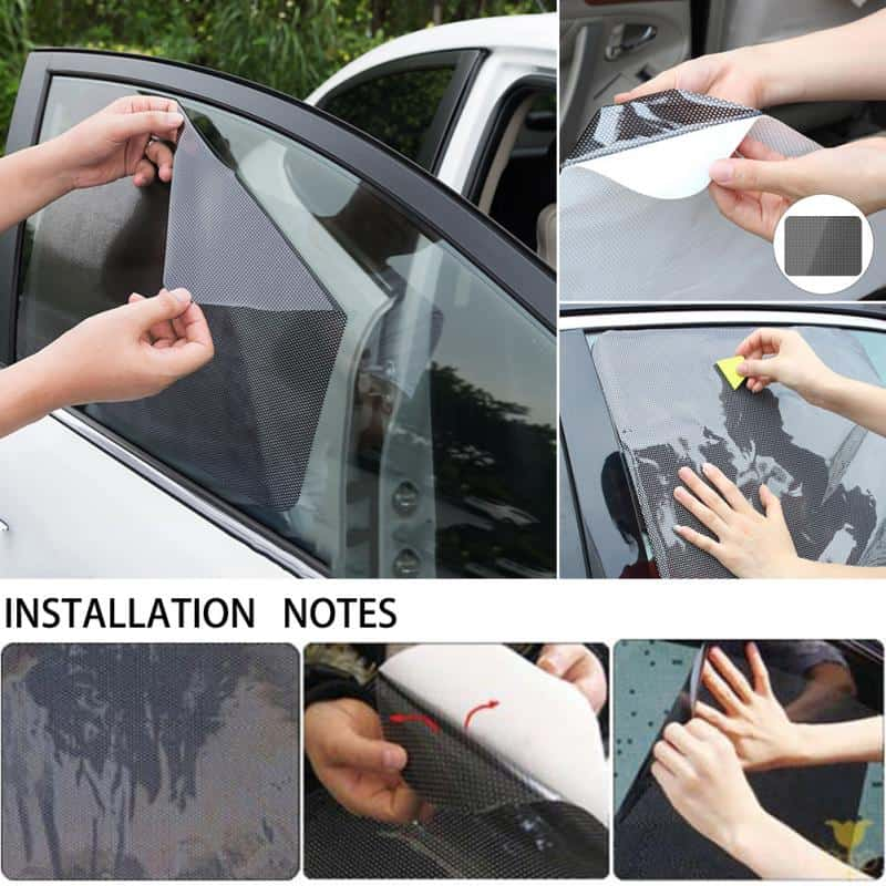 Suitable for whole family car shade