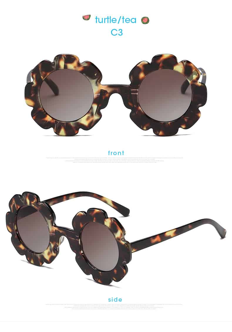 Vintage design kids sunglasses