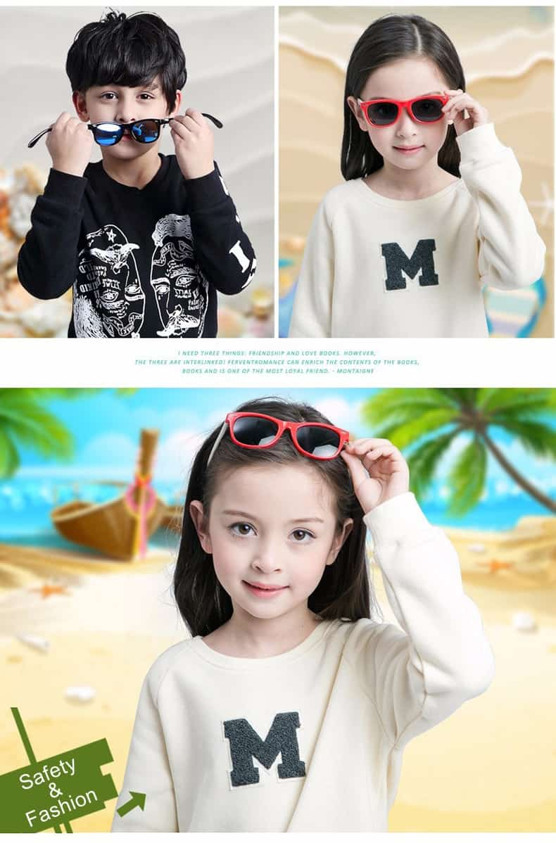 Retro fashion eyewear for kids