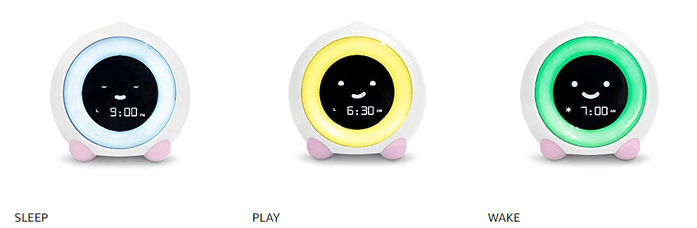 baby alarm clock for sleeping