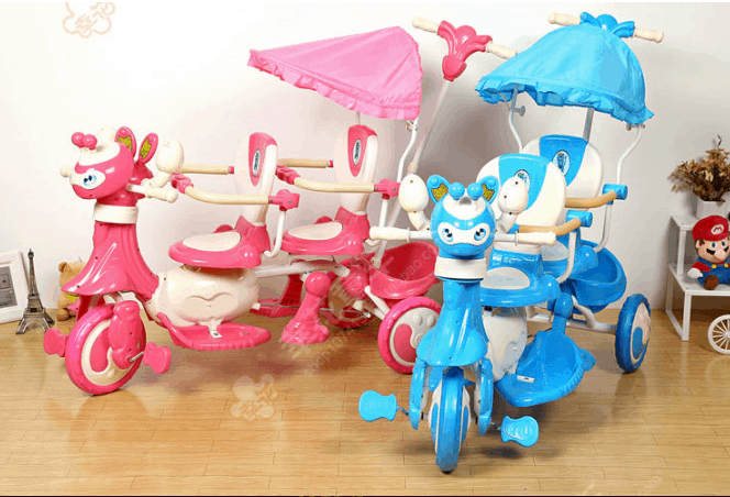 Twin Tricycle for Kids