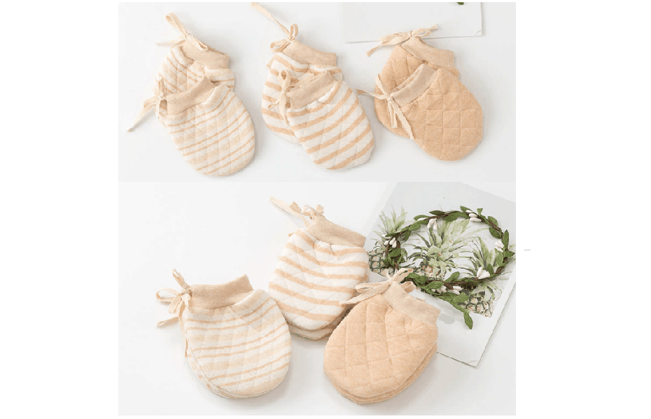 Soft Organic Cotton Mittens