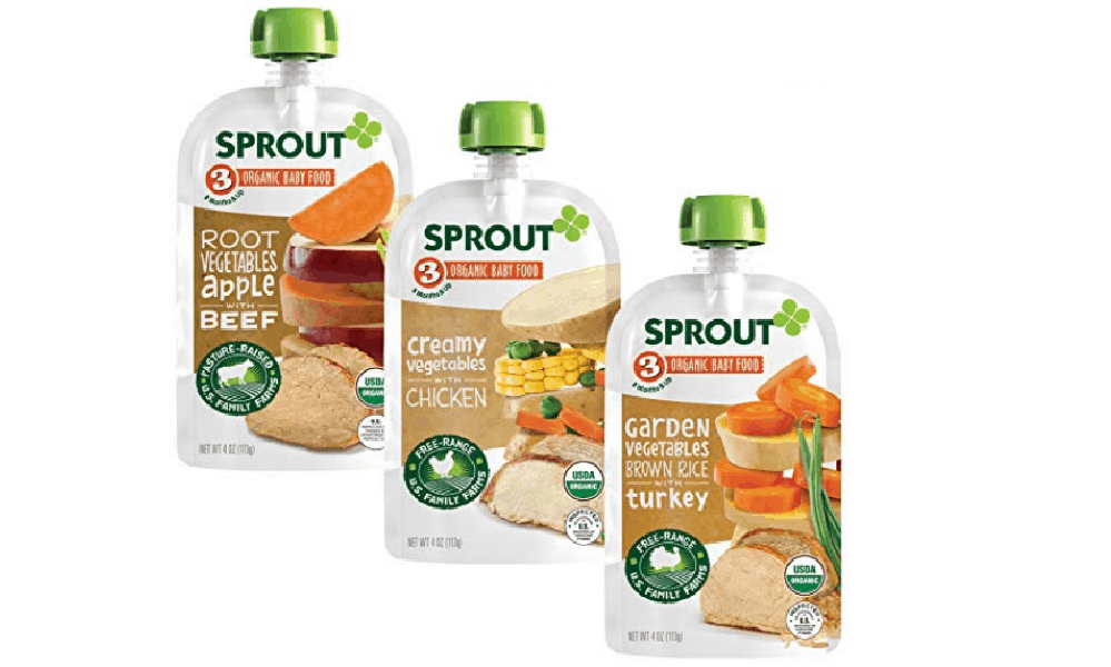 Sprout Organic Stage 3 Baby Food