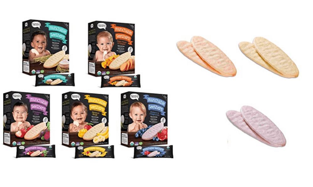 Nosh Baby Munchable Organic Teething Wafers