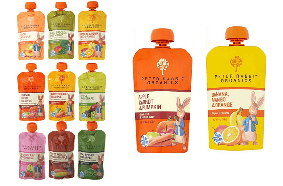 Peter Rabbit Organic Baby Food