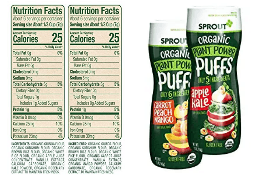 Sprout Organic Quinoa Puffs