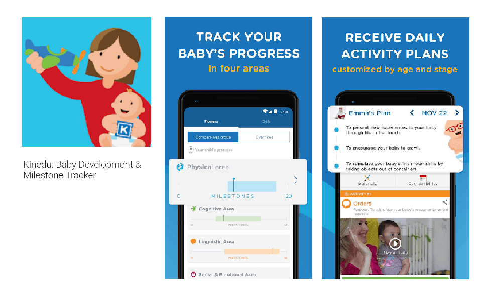 Kinedu: Baby Development and Milestone Tracker