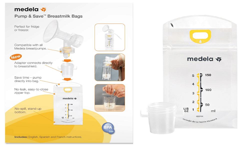 Medela Pump & Save Breast Milk Storage Bags