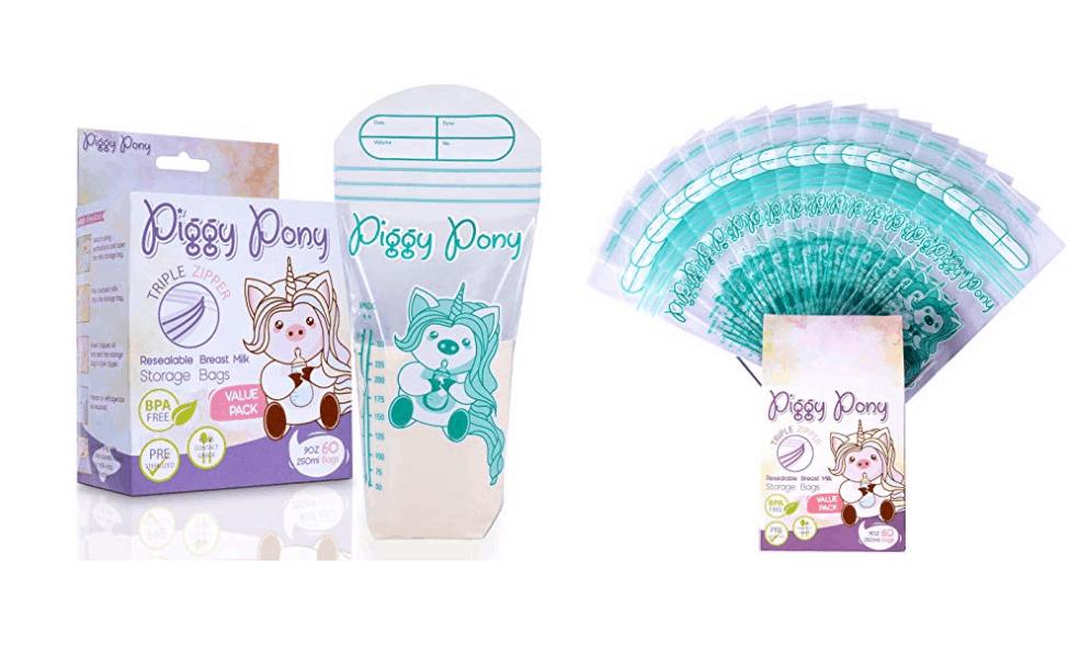 Piggy Pony Breastmilk Storage Bags