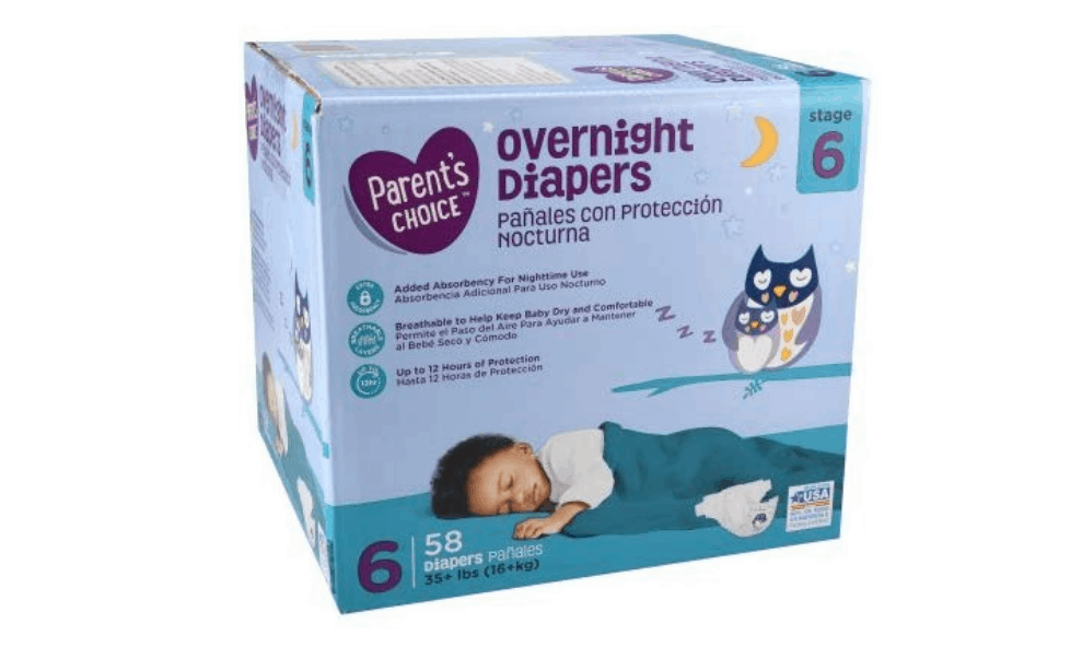 Parent's Choice Overnight Diapers