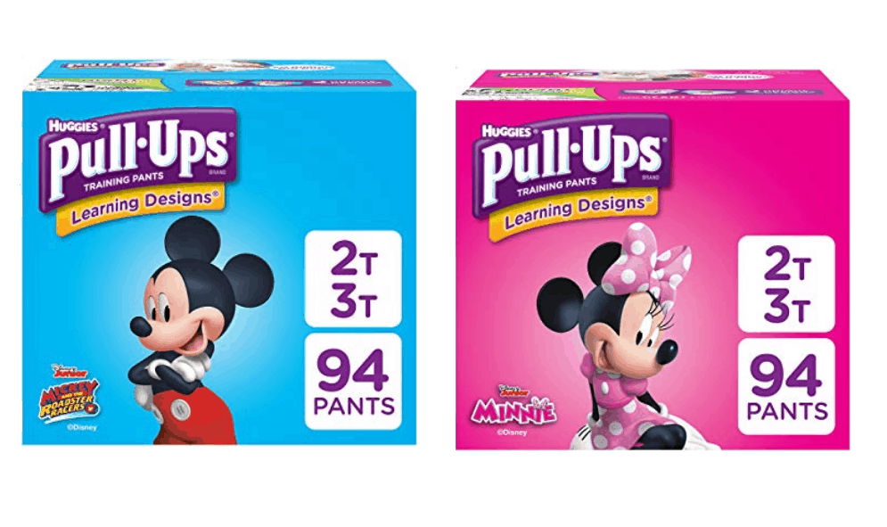 Huggies Pull Ups: Learning Designs