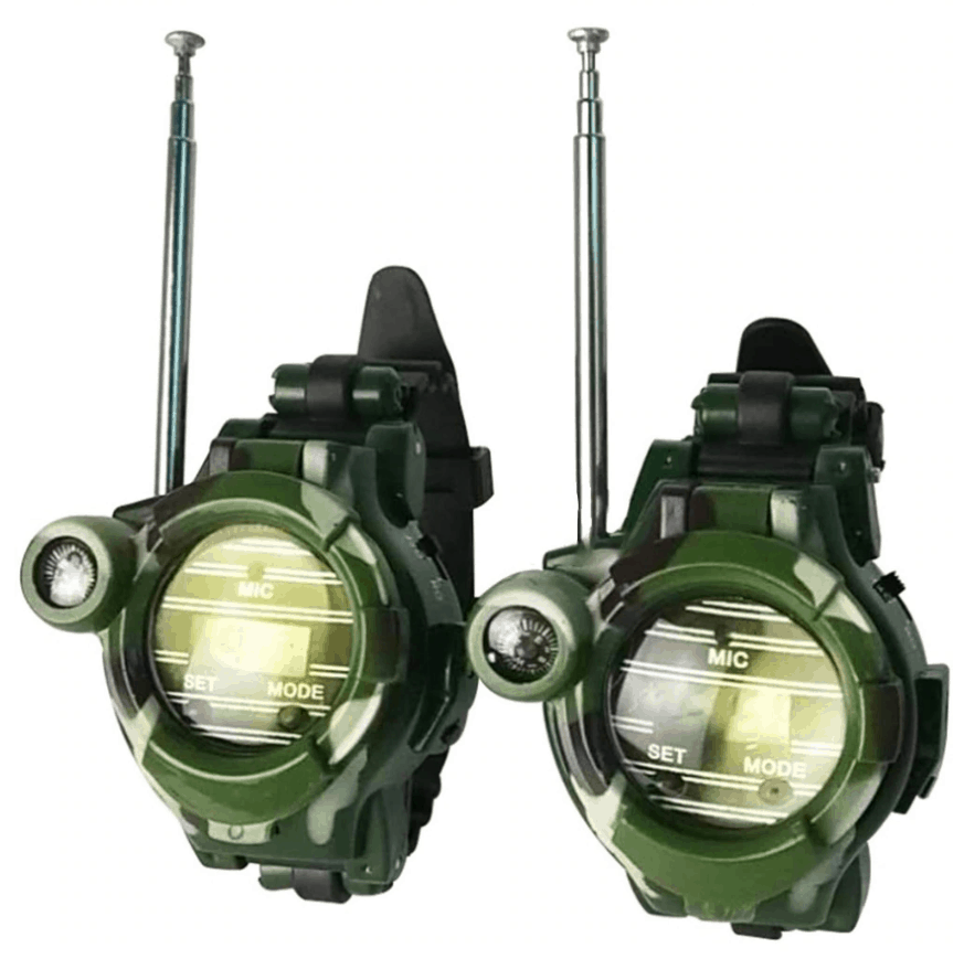 2pcs Walkie Talkie Watch for Kids