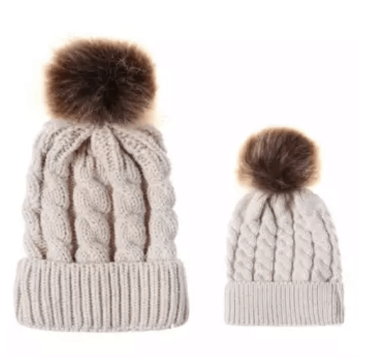 Mommy and Baby Hat