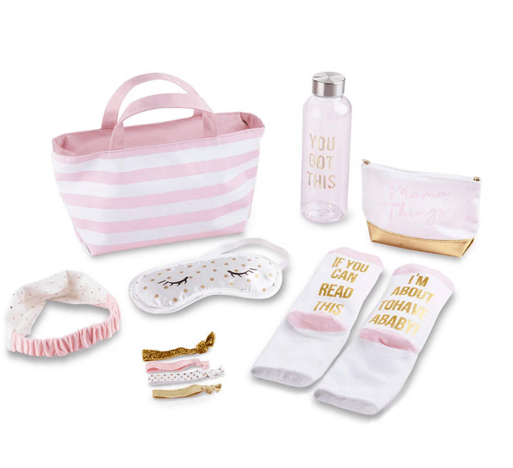 A 7-piece Hospital Shower Gift Kit