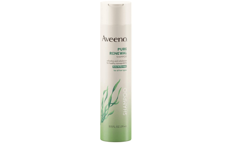 Aveeno Active Naturals Pure Renewal Shampoo for pregnant mom