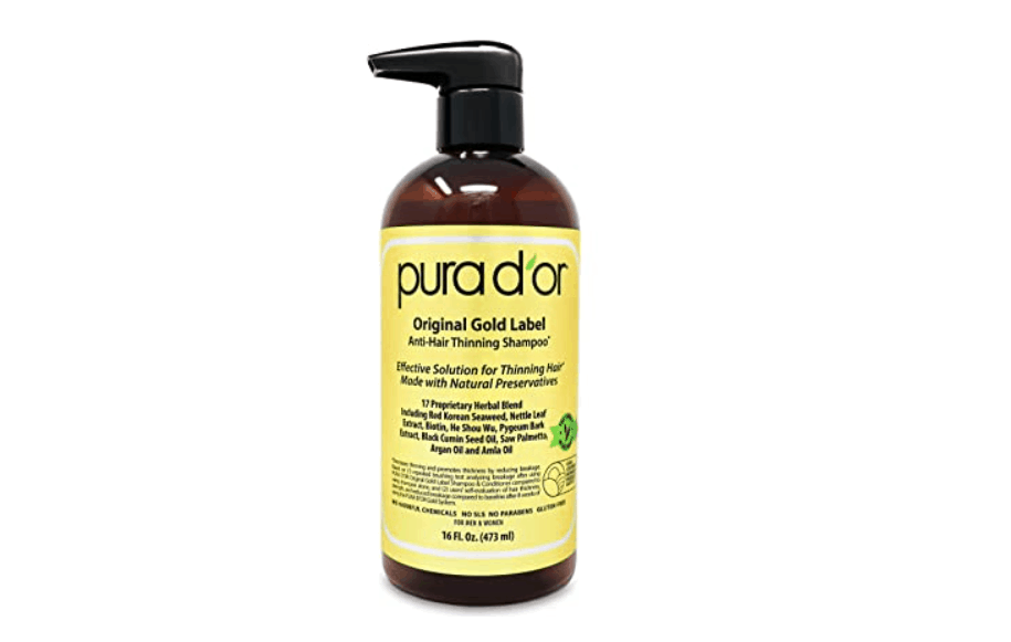 Pura D' Or Original Label Anti-Thinning Biotin Shampoo for pregnant mum