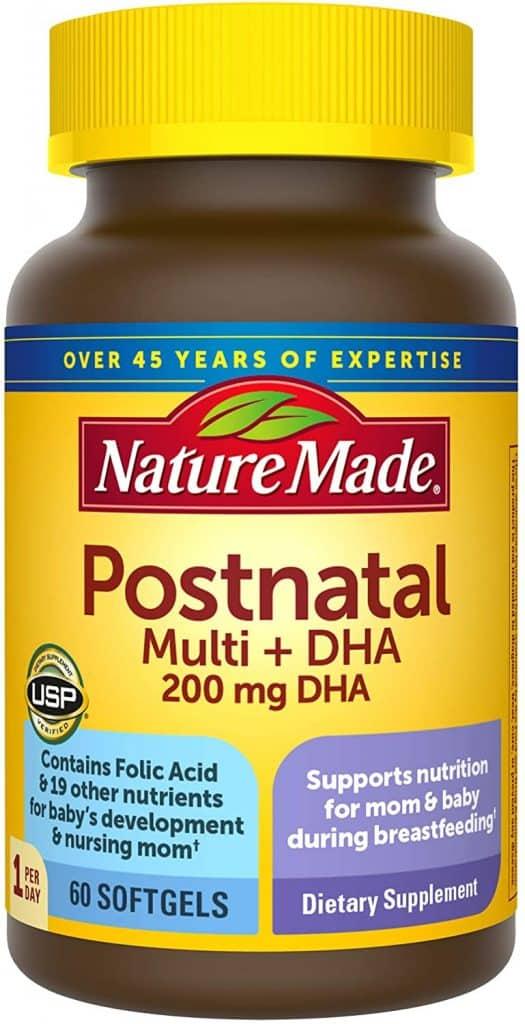 best postnatal vitamins for nursing moms