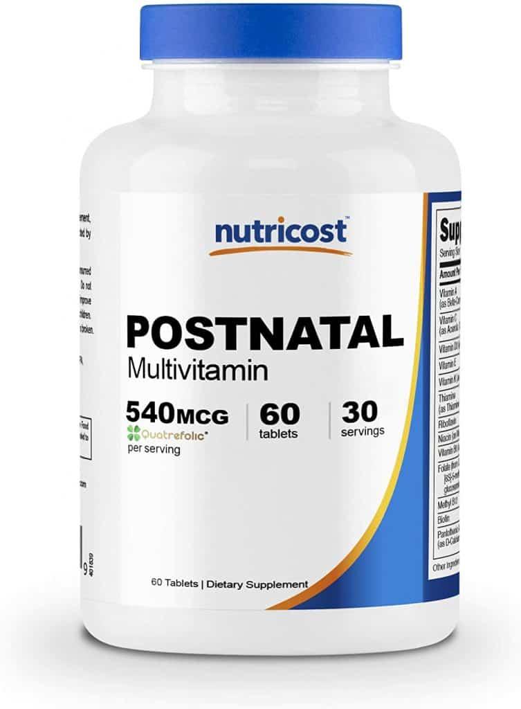 top 10 postnatal vitamins for nursing moms