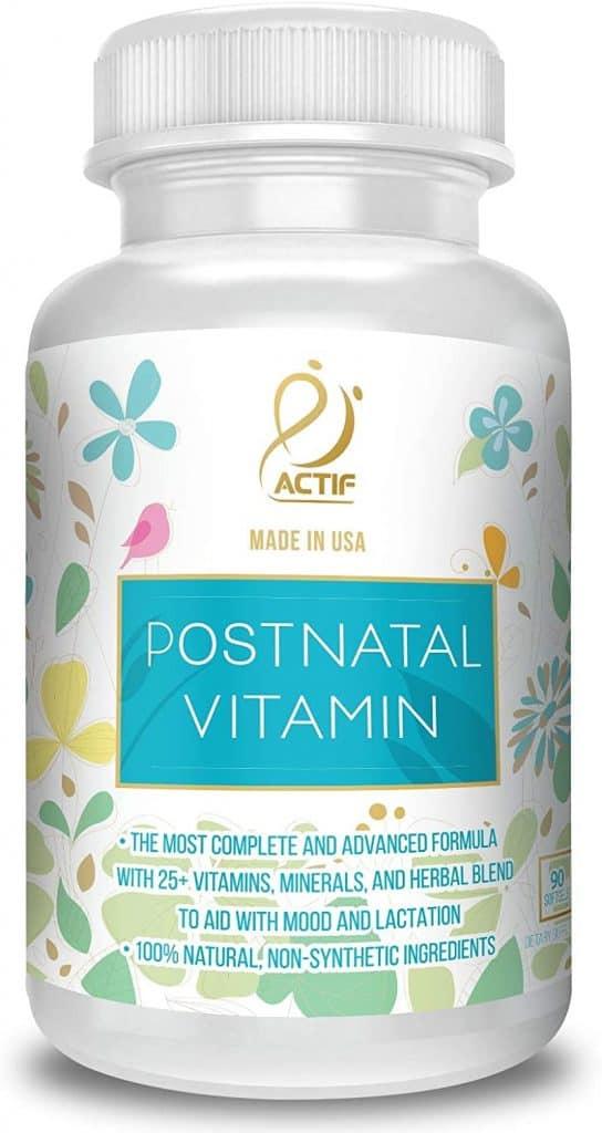 top postnatal vitamins for nursing moms