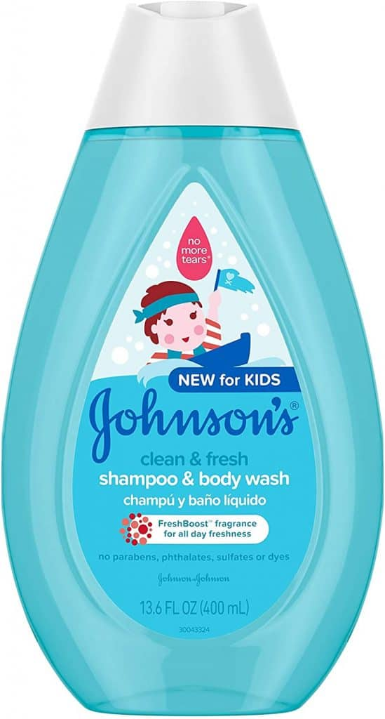 best kids body wash