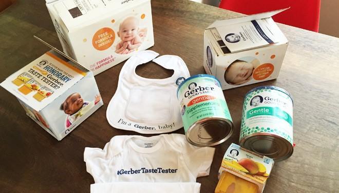 gerber baby free things