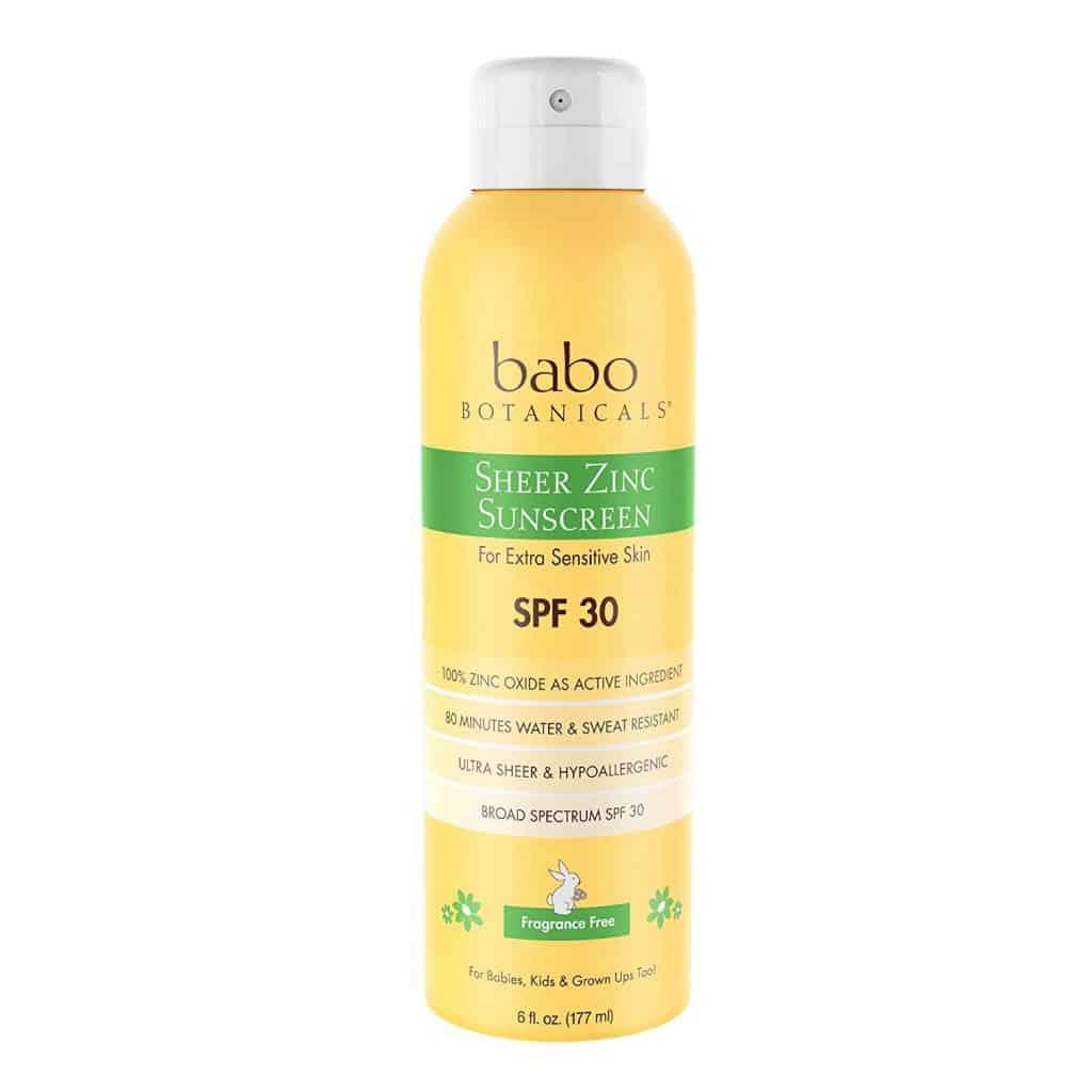 best sunscreen spray for pregnant women