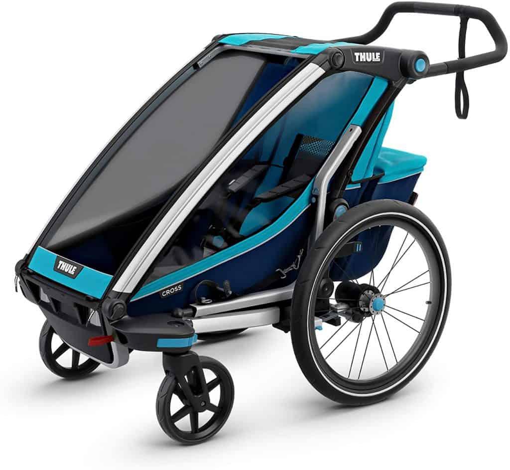 children bike trailer