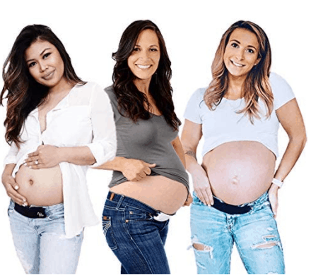 best maternity belly band for jeans