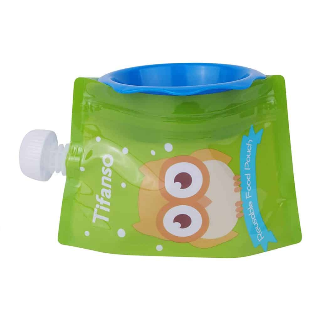 best reusable food pouch for baby