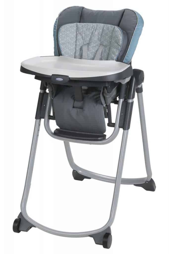 high chair for small spaces