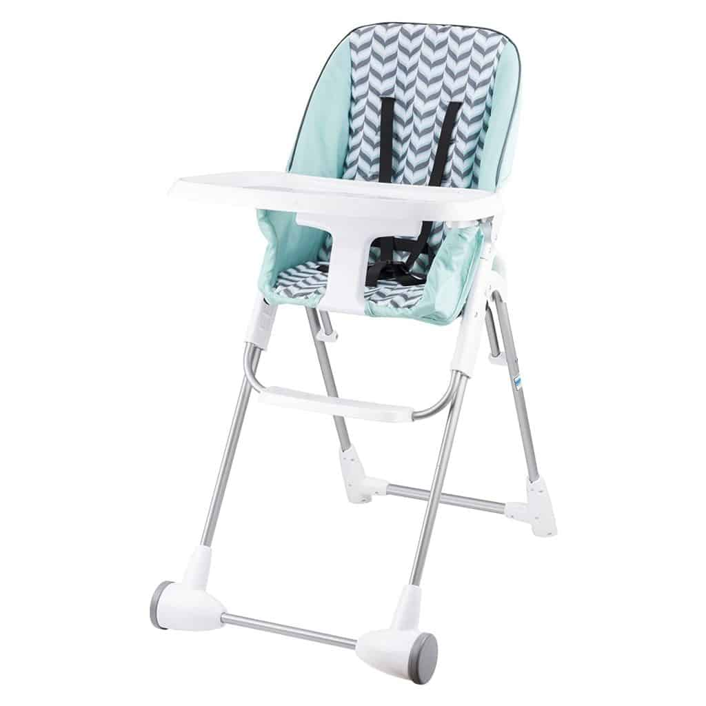 small spaces high chair