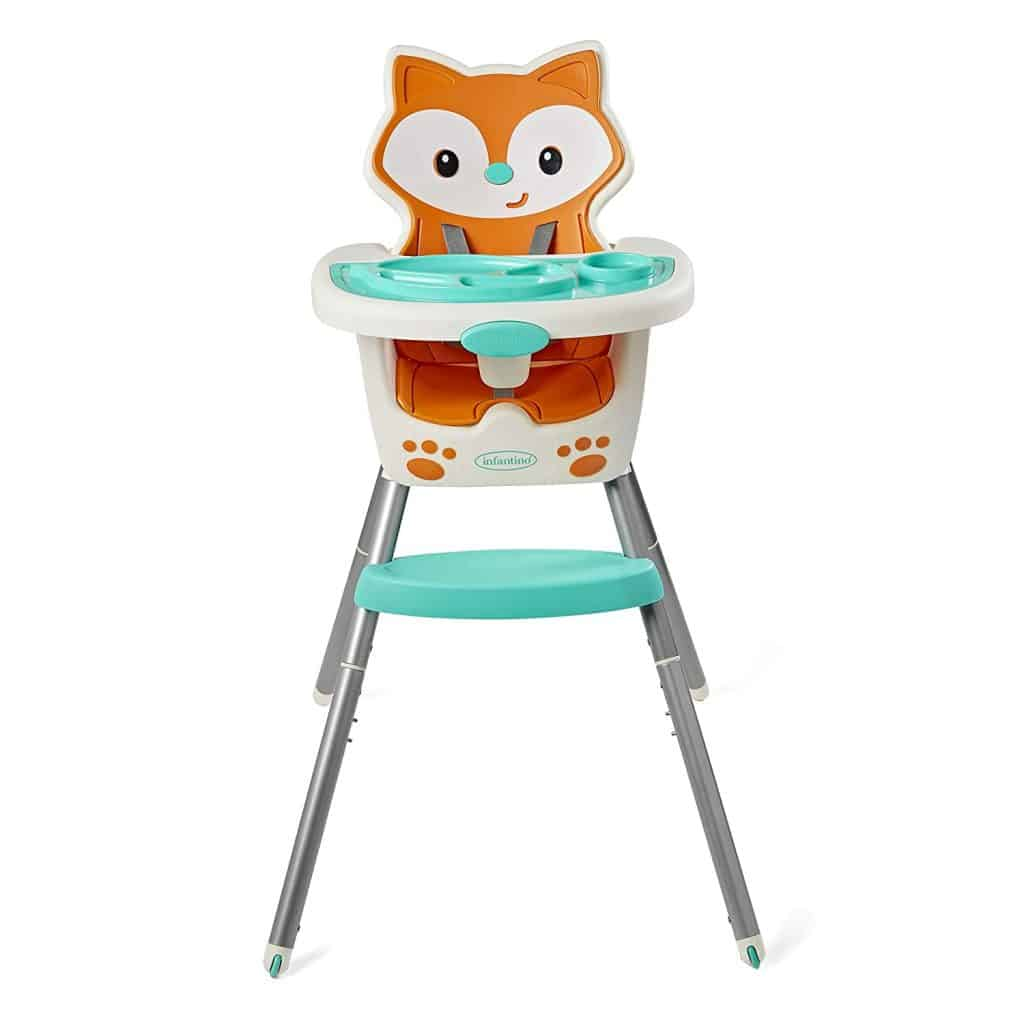 top high chair for small spaces