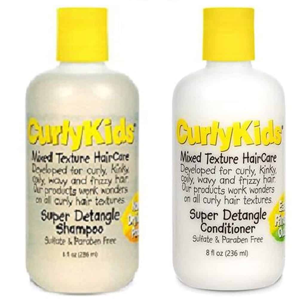 top shampoo for baby with curly hair