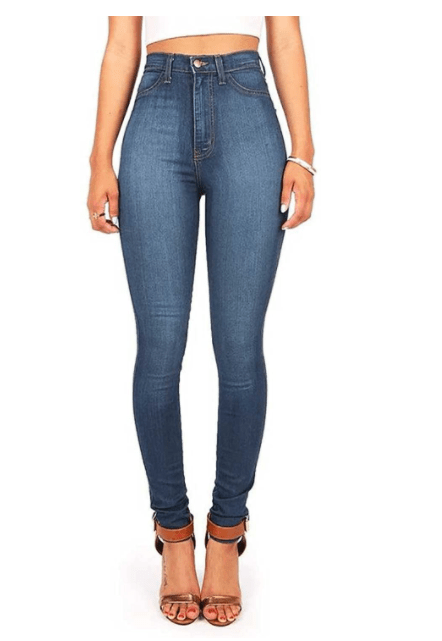 jeans for moms with big thighs 2021