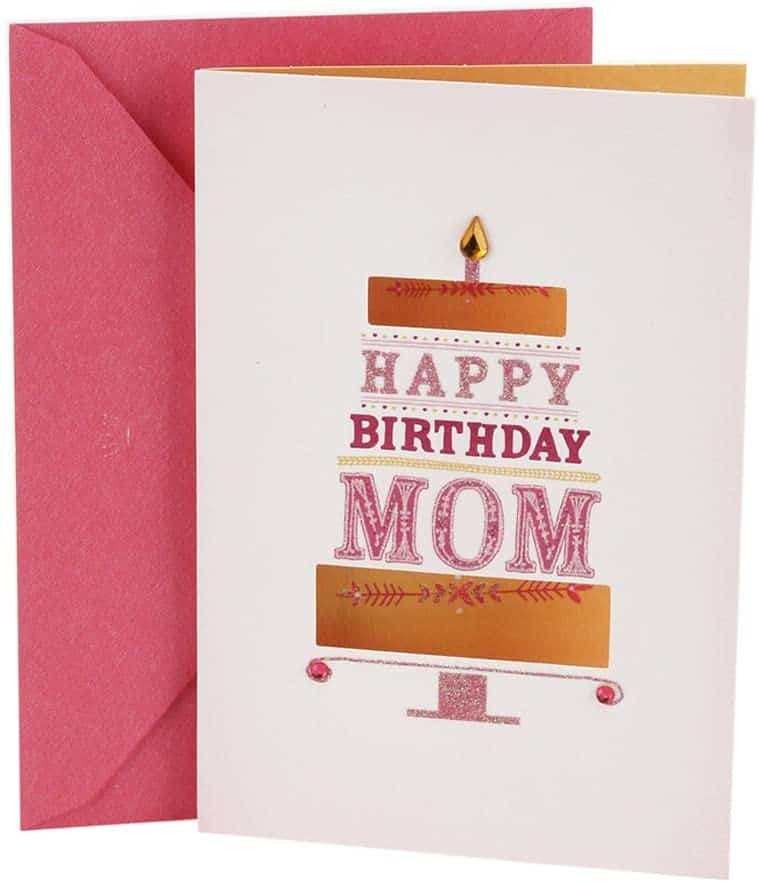 birthday card for mommies